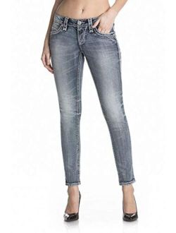 - Womens Calie S201 Skinny Leg Jeans