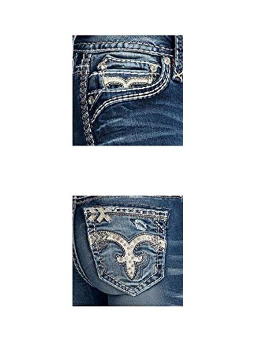Rock Revival - Womens Sea Pine B201 Bootcut Jeans