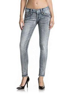 - Womens Braylee S208 Skinny Jeans