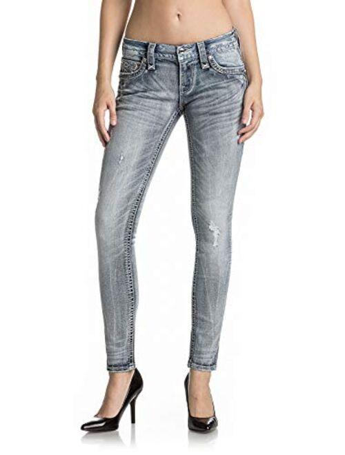 Rock Revival - Womens Braylee S208 Skinny Jeans
