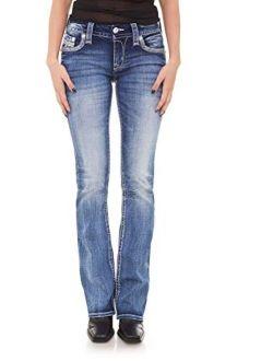 - Womens Moon Mist B201 Bootcut Jeans