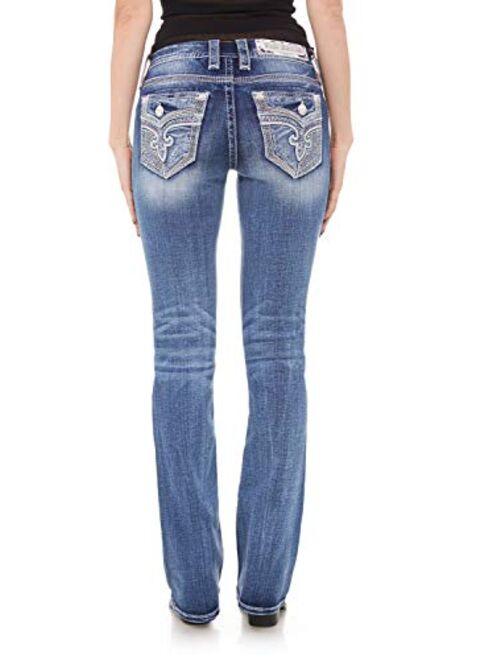 Rock Revival - Womens Moon Mist B201 Bootcut Jeans