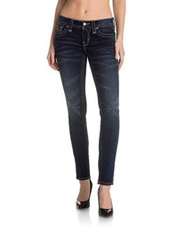 - Womens Anabela Boot Cut Jeans