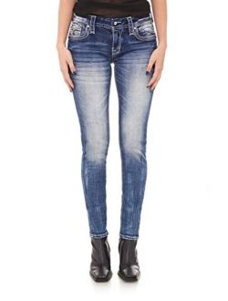 - Womens Rio Red S202 Skinny Jeans
