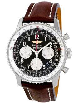 Men's Ab012012/bb02brld Navitimer Black Dial Watch