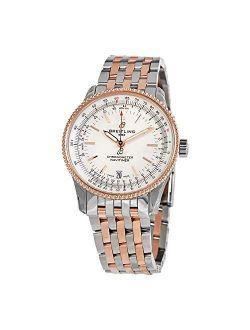 Navitimer Automatic Chronometer Silver Dial 38 Mm Men's Watch U17325211g1u1