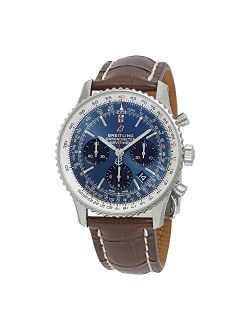 Navitimer 1 Chronograph Automatic Chronometer Blue Dial Men's Watch Ab0121211c1p4