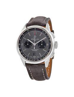 Premier Chronograph Automatic Chronometer Anthracite Dial Men's Watch Ab0118221b1x2