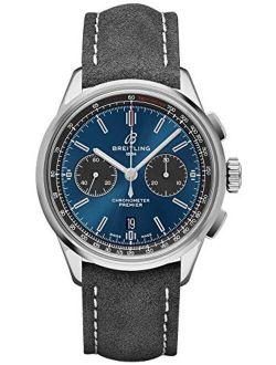 Premier B01 Chronograph 42 Blue Dial Watch Ab0118a61c1x4