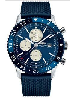Chronoliner Blue Watch Chronograph, Gmt Time Zone Y2431016/c970/277s
