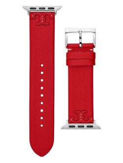 Women's McGraw Red Band For Apple Watch® Leather Strap 38mm/40mm