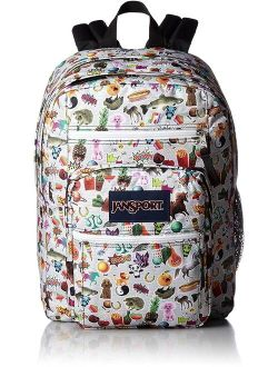 Unisex Big Student Multi Stickers Backpack