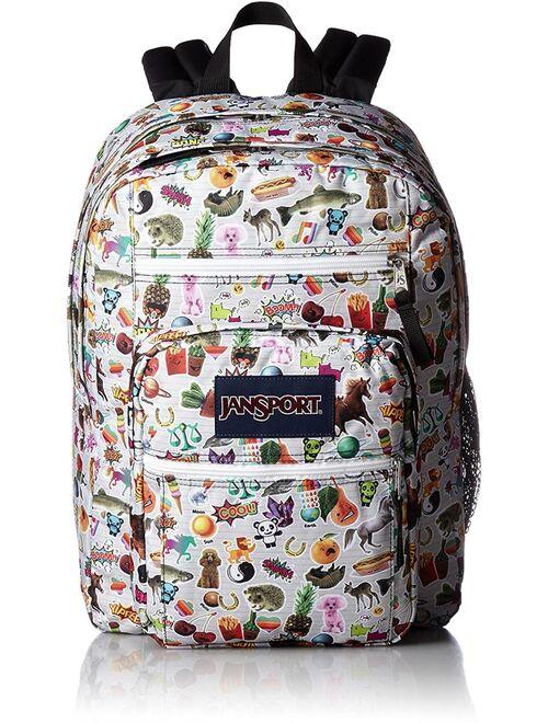 JanSport Unisex Big Student Multi Stickers Backpack