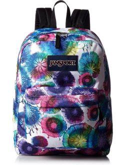 Superbreak Backpack Multi Tie Dye Swirls