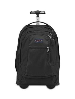 , Driver 8, Rolling Backpack, Black - One Size.