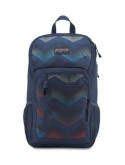 Impulse Laptop Backpack - Matrix Chevron Navy