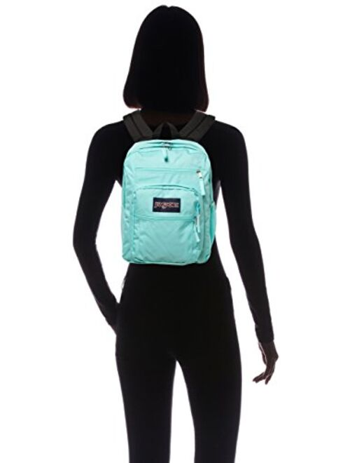 JanSport Big Student Backpack, Aqua Dash, 34L