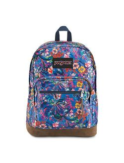 Right Pack Expressions Backpack - School, Travel, Work, Or Laptop Bookbag, Yucatan Floral
