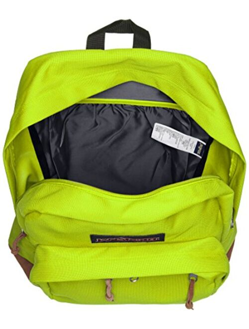 """Jansport Right Pack Active Backpack - Lime Punch - 18""""h X 13""""w X 8.5""""d"""