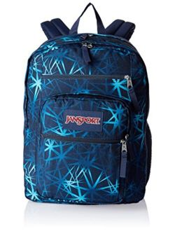 Big Student Backpack - Navy, One Size