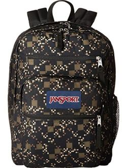 Big Student Backpack, Green Machine Digi Cube