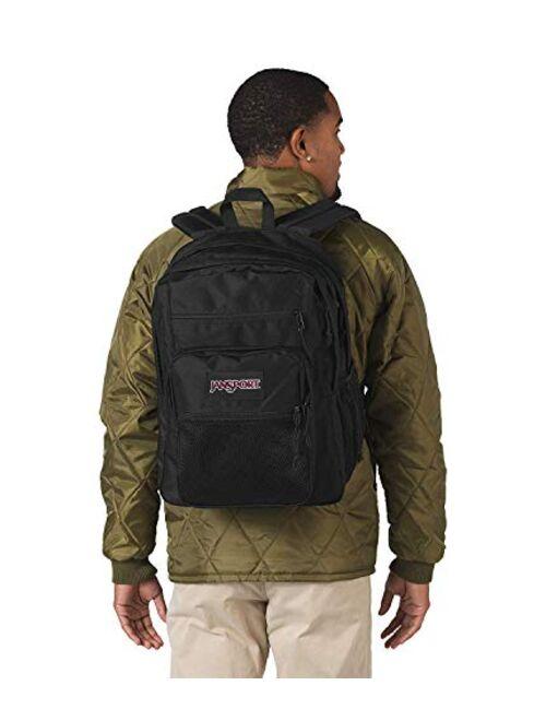 JanSport Big Campus - Multipurpose Backpack, Black, One-Size