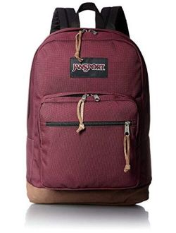 Right Pack Laptop School Backpack In Russet Red