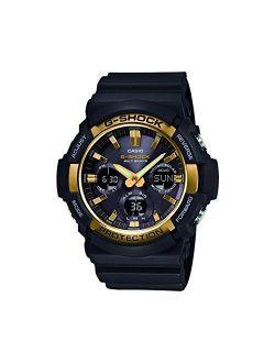 Mens Analogue-digital Quartz Watch With Resin Strap Gaw-100g-1aer