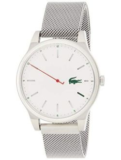 Men's Kyoto Quartz Watch With Stainless-steel Strap, Silver, 20 (model: 2010969)