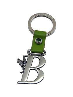Bell Letter B Peter Pan Disney Pewter Keychain
