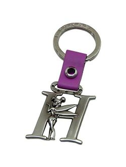 Tinker Bell Letter H Pewter Key Chain