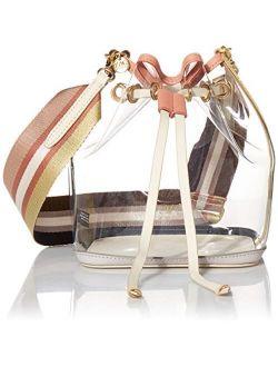 Pvc Solid Crosbody Bag