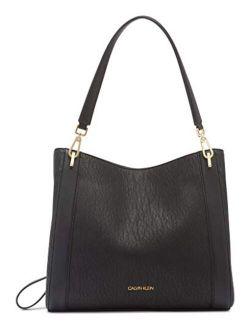 Ellie Novelty Triple Compartment Shoulder Bag