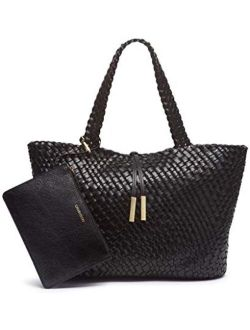 Women's Naomi Large Woven Novelty Tote