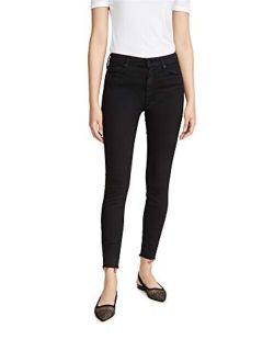 MOTHER Women's Looker Ankle Fray Skinny Jeans