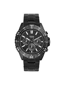 Men's Garrett Stainless Steel Quartz Dress Chronograph Watch