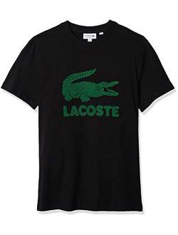 Men's Short Sleeve Flocked Graphic Croc T-shirt