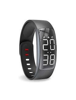 Biliqueen Kids Fitness Tracker Watch Activity Tracker Digital Smart Watches for Girls Boys Pedometer Watch with Alarm Calorie Counter Kids Step Tracker Great Gift for Kid
