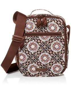 Signature Cotton Deluxe Bunch-lunch-bag, Mahogany Medallion