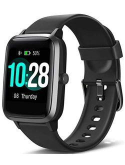 """Blackview Smart Watch for Android Phones and iOS Phones, All-Day Activity Tracker with Heart Rate Sleep Monitor, 1.3"""" Full Touch Screen, 5ATM Waterproof Pedometer, Smartw"""