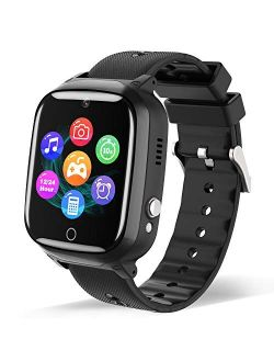 Smart Watch for Kids - Children Smartwatch Boys Girls with 2 Way Phone Calls 7 Intelligent Games Music MP3 Player Camera Calculator Alarm Timer 12/24 Hours for 4-12 Years
