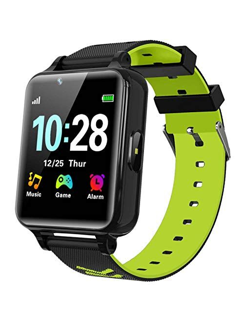 WILLOWWIND Kids Smart Watch for Boys Girls - Children's Smartwatch with 14 Games Music Mp3 Player 2 Way Phone Calls Alarms Calculator for Students 4-12 Years Old Birthday