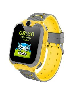 Kids Smartwatch Girls and Boys,Colorful Touch Screen Waterproof Smartwatch with Camera Games Alarm Touch Screen SOS Call Voice Chatting Christmas Birthday Gift Students T