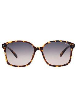 Women's Praia Polarized Square Sunglasses