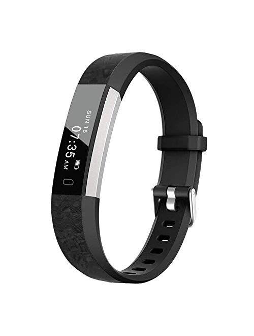 BIGGERFIVE Fitness Tracker Watch for Kids Girls Boys Teens, Activity Tracker, Pedometer, Calorie Sleep Monitor, Silent Alarm Clock, IP67 Waterproof Step Counter Watch