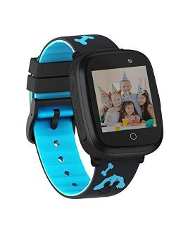 HuaWise Smart Watch for Kids,HD Touch Screen Game Watch,Waterproof Kids Smartwatch with SOS Call Music Player Camera Alarm Clock Birthday Gift