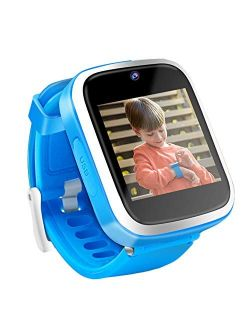 Yehtta Kids Smart Watch Toys for 3-8 Year Old Boys Toddler Watch HD Dual Camera Watch for Kids All in one Blue Easter Birthday Gifts for 6-10 Years Old Boys Kids Watch Ou