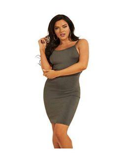 Women's Sleeveless Jen Cut-out Back Mini Dress