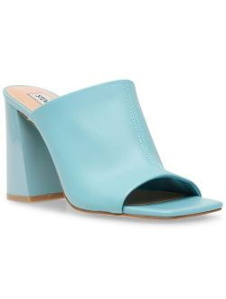 Women's Tule High-Heel Square Toe Sandal