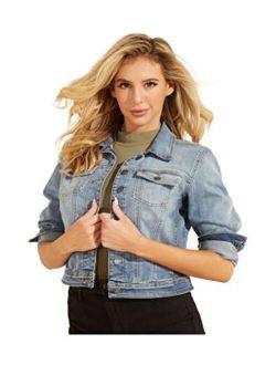 Womens Sexy Denim Trucker Jacket